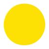 Mágneses körök, citromsárga, 10 mm