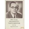 Magvető Válogatott tanulmányok I. kötet 1935-1944