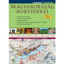 - MAGYARORSZÁG BORVIDÉKEI - FALITÉRKÉP térkép