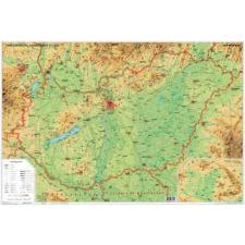 Magyarország domborzata térkép könyöklő - Stiefel térkép