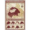 Magyarország ezeréves sorsa falitérkép - Stiefel