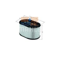 MAHLE ORIGINAL (KNECHT) MAHLE ORIGINAL LX669 levegőszűrő levegőszűrő