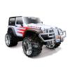 Maisto Off-Road RC Jeep Wrangler Rubicon távirányítású autó - fehér