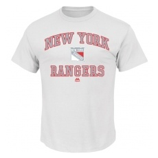 Majestic New York Rangers fĂŠrfi póló white Color Pop White - L