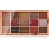 Makeup Revolution Foil Frenzy metálszínű szemhéjfesték paletta árnyalat Fusion 15 x 1,1 g