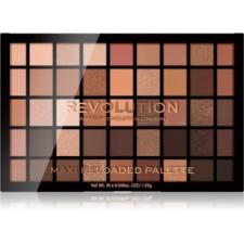 Makeup Revolution Maxi Reloaded Palette púderes szemhéjfesték paletta árnyalat Ultimate Nudes 45x1.35 g szemhéjpúder