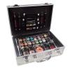 Makeup Trading Schmink Set Alu Case Női dekoratív kozmetikum Teljes Smink Paletta, Kazettás dekoratív kozmetika Dekoratív tok 72g