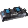 Makita Dupla-Akkutöltő szerszámgép Makita Blockakku BML185(FlashLight)