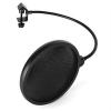 Malone POP-1, pop filter, szél elleni védelem, fekete