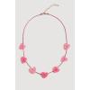 Mango Kids - Gyerek nyaklánc Sweet - rózsaszín - 1375769-rózsaszín