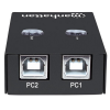 MANHATTAN 2 PC - USB 2.0 Automatic Sharing Switch
