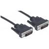 MANHATTAN DVI-DVI Dual Link monitor kábel, 3 m, MANHATTAN KMA371803