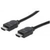 MANHATTAN HDMI kábel, 2 m, ethernet, MANHATTAN KMA323215