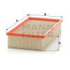 MANN FILTER C 26 110/1 Levegőszűrő, C26110/1