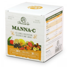 MannaVita MANNA-C étrend-kiegészítő, 230g vitamin és táplálékkiegészítő
