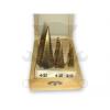 Mannesmann Tools Lépcsős fúró klt. 3 db-os titán 4-32 mm (54603)