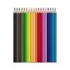 MAPED Akvarell ceruza készlet, háromszögletû, ecsettel, MAPED Color Peps, 18 különbözõ szín