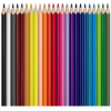 """MAPED Akvarell ceruza készlet, háromszögletű, ecsettel, MAPED """"Color Peps"""", 24 különböző szín (IMA836013)"""