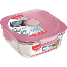 """MAPED Ételtartó doboz, üveg, MAPED PICNIK """"Concept Adult"""", rózsaszín kulacs, kulacstartó"""