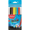 MAPED Filctoll készlet, 2 mm, kimosható, MAPED Color`Peps Ocean, 6 különböző szín (IMA845723)