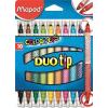 """MAPED Filctoll készlet, MAPED """"DuoTip"""", 10 különböző szín"""
