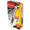 MAPED Nyomósirón, 0,5 mm, MAPED Black`Peps, pink (IMA559536)