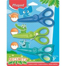 """MAPED Olló, óvodai, 12 cm, MAPED """"Kidicraft"""", állatos, vegyes színek iskolai kiegészítő"""