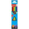 """MAPED Színes ceruza készlet, háromszögletű, MAPED """"Color`Peps"""", 6 különböző szín"""