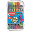 MAPED Tempera készlet, 12 darabos, műanyag dobozban, MAPED IMA810520
