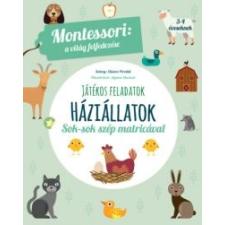 Maria Montessori Háziállatok - A világ felfedezése készségfejlesztő