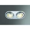 Massive - Philips 59602/48/10 - Fürdőszobai mennyezeti lámpa MONO 2xGX53/9W/230V alumínium