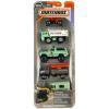 Matchbox Matchbox: 5 darabos kisautó készlet - vadőr járművek