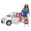 Mattel Barbie: Barbie Fiat 500 autóval