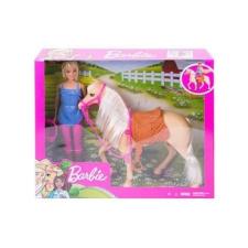 Mattel Barbie: lovas szett babával barbie baba