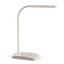 """Maul Asztali lámpa, LED, szabályozható,  """"Pearly colour vario"""", fehér irodabútor"""