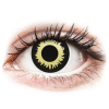 MaxVue Vision ColourVUE Crazy Lens Eclipse - dioptria nélkül (2 db lencse)