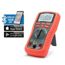 MAXWELL Smart, digitális multiméter - Bluetooth, LED háttérvilágítás (Smart, digitális multiméter) mérőműszer