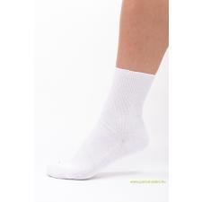 Medical, gumi nélküli zokni 5 pár - fehér 37-38 női zokni
