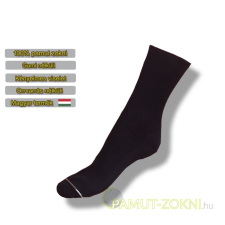 Medical, gumi nélküli zokni - fekete 35-36 női zokni
