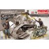 Meng Model - French Ft-17 Light Tank Crew & Orderly