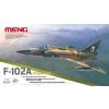 Meng-Modell MENG-Model F-102A (Case XX) katonai repülő makett DS-005