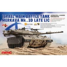 Meng-Modell MENG-Model Israel Main Battle Tank Merkava Mk.3D Late Lic tank makett TS-025 makett figura