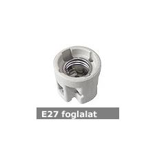 Mentavill E27 kerámia foglalat 230V - ráépíthető izzó
