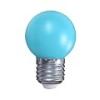 Mentavill Színes LED lámpa E27 (1W/200°) Kisgömb - kék