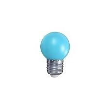 Mentavill Színes LED lámpa E27 (1W/200°) Kisgömb - kék izzó