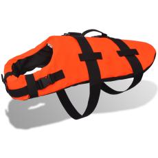 mentőmellény kutyák számára narancssárga