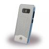 Mercedes-Benz Mercedes Benz Samsung Galaxy S8 Wave V Carbon Fiber & Brushed Aluminium hátlap, tok, ezüst