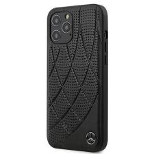 """Mercedes iPhone MEHCP12LDIQBK 12 Max Pro 6.7 """"fekete tok Bow vonal telefontok tok és táska"""