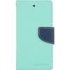 Mercury Goospery Mercury Fancy Diary Samsung G530/G531 Galaxy Grand Prime kinyitható tok menta-kék
