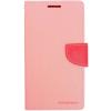 Mercury Goospery Mercury Fancy Diary Samsung J120 Galaxy J1 (2016) kinyitható tok pink-sötétpink
